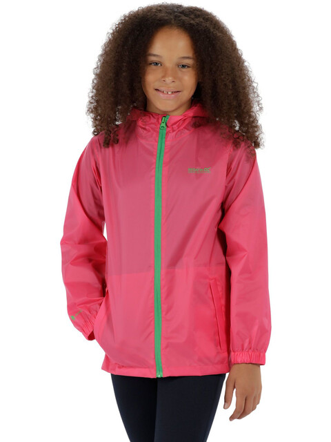 Regatta Pack-It III Jakke Børn pink